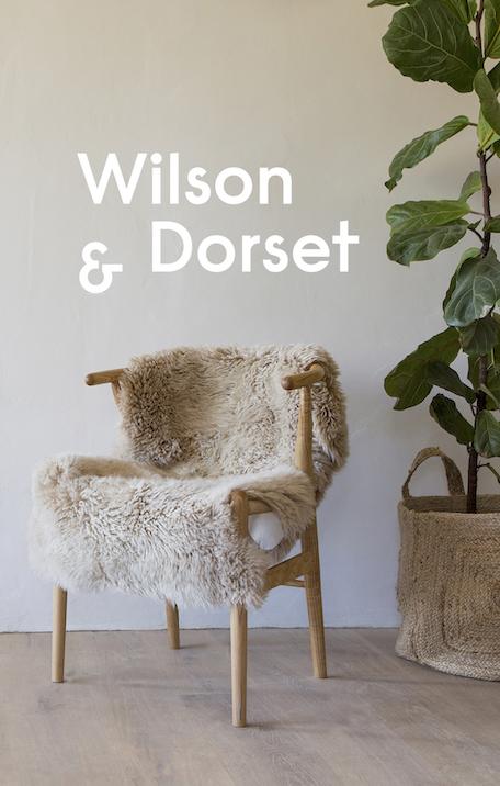 Wilson & Dorset sheepskin cushions, sheepskin beanbags, sheepskin rugs