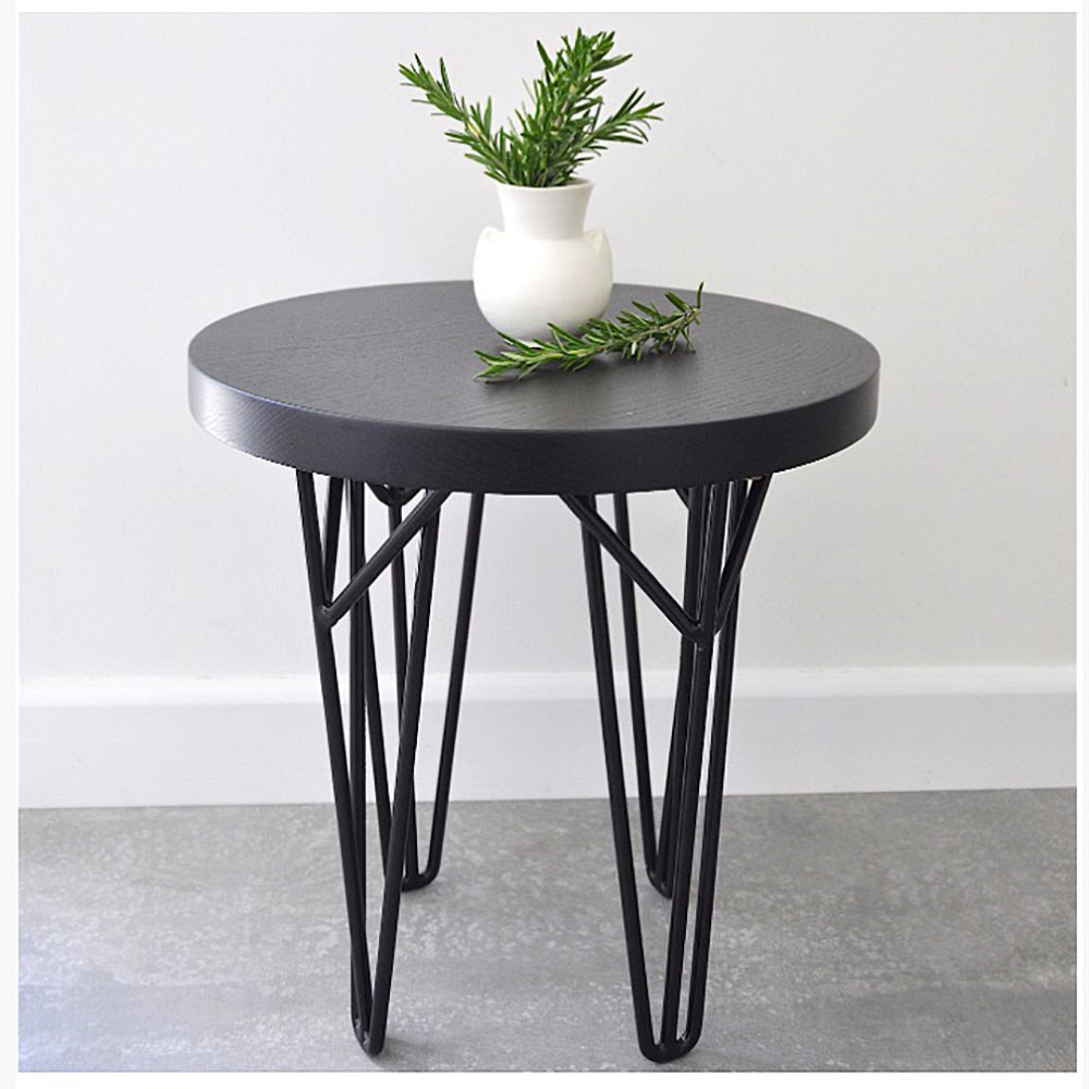 Ohau round side table stool ico traders for Furniture traders
