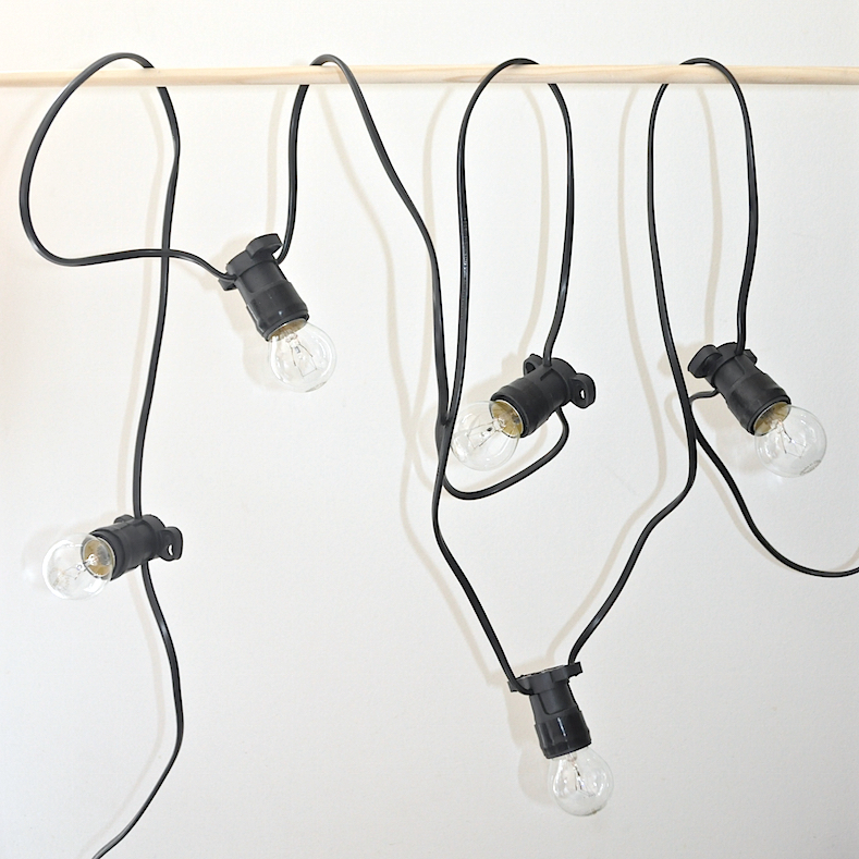 Festoon lights 10m / 10 bulbs Ico Traders