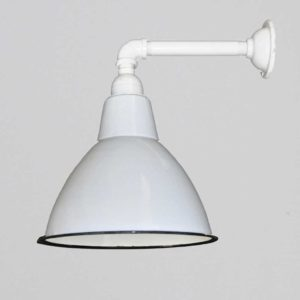 white-attic-wall-light