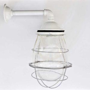 white-caged-tavern-light