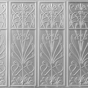 Pressed metal panel pattern, Wildflower design by Pressed tin panels
