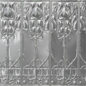 Pressed metal panel pattern, Art Nouveau design by Pressed tin panels