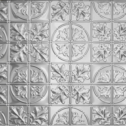 Pressed metal panel pattern, Large Maple design by Pressed tin panels