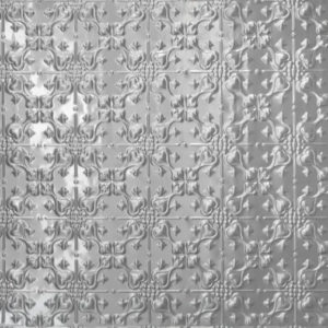 Lizzards design, pressed metal panel pattern by Pressed tin panels®
