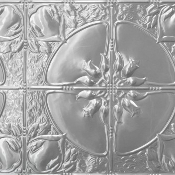 Pressed metal panel pattern, Lotus design by Pressed Tin Panels®