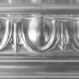 Pressed metal panel pattern, Egg & Dart cornice by Pressed Tin Panels
