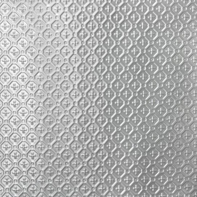 Savannah design, pressed metal panel pattern by Pressed Tin Panels