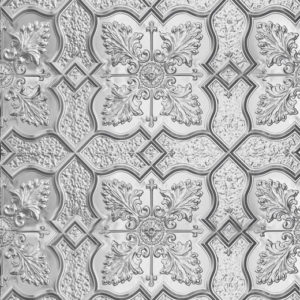 Shield design, pressed metal panel pattern by Pressed Tin Panels®