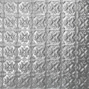 Spades design, pressed metal panel pattern by Pressed tin panels