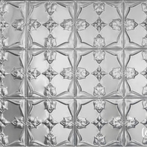 Pressed metal panel pattern, Tulip design by Pressed Tin Panels®