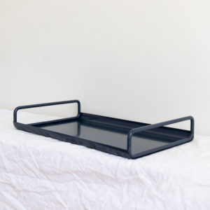 All Day Metal Tray by Ico Traders - colour Indigo