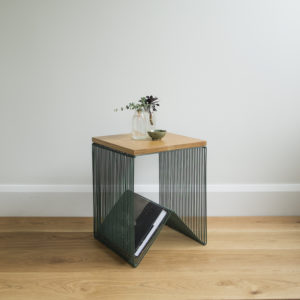 Moss Greeen Willowby Hardtop Side Table or Stool