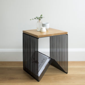 Willowby hardtop black - Side Table or Stool