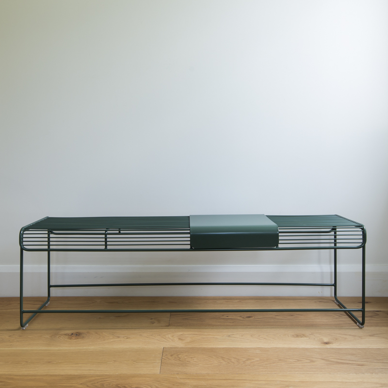 Benmore Bench Seat Outdoor Wire