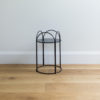 Small sized wire plant stand by Ico Traders - Mahoe stand - colour black