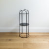 Mid Sized wire plant stand by Ico Traders - Mahoe stand - colour Black