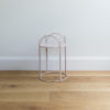 Small sized wire plant stand by Ico Traders - Mahoe stand - colour blush